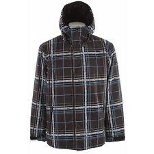 QUIKSILVER Men's GRID Snow Jacket - BLK - Size Large- NWT