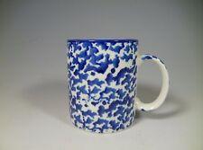 Royal Majestic COUNTRY TIME BLUE 8750 Sponge Ware Blue Mugs 12 oz.