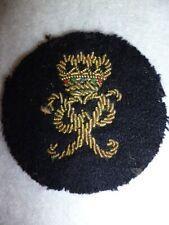 The Duke of Edinburgh's (Wiltshire Regiment) Officer's Bullion Wire Cap Badge