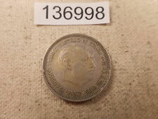 1957 Spain 25 PTAS - Nice Collector Grade Album Type Coin - # 136998