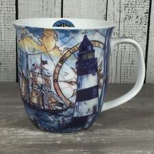 Großer Kaffeebecher Porzellan LEUCHTTURM SEGELSCHIFF Becher Tasse maritim