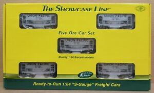 S-Helper Service 00744 Union Pacific 5-Car Ore Car Set S-Gauge/Scale NIB