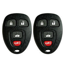 2 NEW KEYLESS ENTRY REMOTE CONTROL CAR KEY FOB REPLACEMENT FOR Buick 15252034