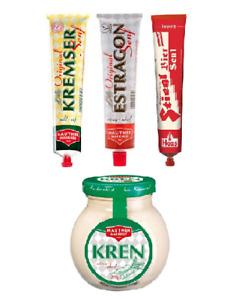 Austrian Mustard & Kren Collection: Original Estragon, Kremser & Stiegl Senf
