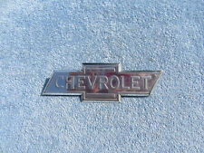 1937 Chevrolet Truck Bow Tie Hood emblem sign ORIGINAL