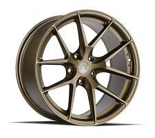 Aodhan Aff7 18x95 35 5x1143 Matte Bronze Civic Accord Camry Mazda3 Lancer Wrx