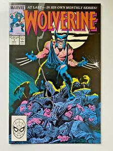 Marvel Comics Wolverine #1 (1988) Comic Book