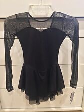 WOW! Black Classic Style figure skating dress, NWT