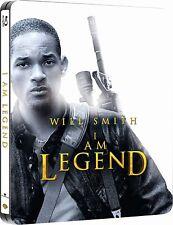 I AM LEGEND (2007) BLU RAY FILM STARRING WILL SMITH LTD EDITION STEELBOOK NEW RB