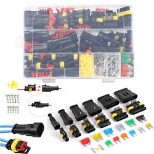 240pcs Superseal AMP/Tyco Car Waterproof Electrical Connectors Kit 1-6 Pin Kit