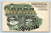 Washington DC - 1900s METHODIST BUILDING RESTAURANT ADVERTISING POSTCARD