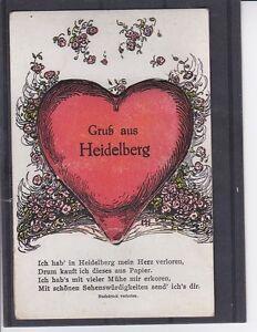 AK Leporello Gruß aus Heidelberg sehr schön ANSEHEN und LESEN