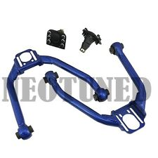 Blue For  03-07 G35 Coupe / 03-06 Sedan Front Upper Camber Arm Kit Alignment Set