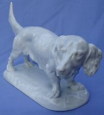 """15"""" LONG HAIRED DACHSHUND DOG HEREND"""