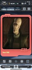 Topps Star Wars Card Trader 2015 Tier 10 Matte Base Variant San Hill - 8cc