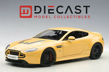 AUTOART 70252 ASTON MARTIN V12 VANTAGE S 2015, YELLOW TANG 1:18TH SCALE