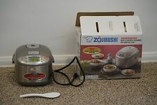 Zojirushi NP-GBC05 Rice Cooker and Warmer 3 Cups NEW INDUCTION HEATING SYSTEM