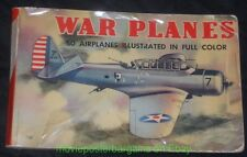 WAR PLANES OF ALL NATIONS INDENTIFICATION BOOK 1940 WHITMAN PUBLISHING CO WWII