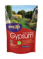 Encap  Gypsum and Soil Conditioner  400 sq. ft. 2.5 lb. Bag  Organic