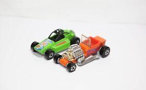 Hot Wheels 1988 Custom Hot Rod & Hot Wheels Rock Buster - Excellent Job Lot