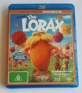 The Lorax Kids Blu-Ray Movie  VGC