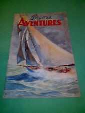 Lisez-moi Aventures - N°6 Aout 1948