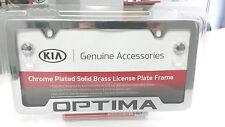 Kia Optima Chrome License Plate Frame UR010-AY100MG OEM 50 State Certified!