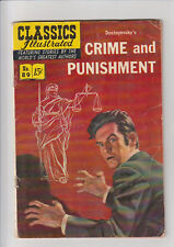 Classics Illustrated #89 VG/F HRN 89 Crime and Punishment  Orig 1st edition 1951