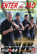 12 DVD Box JKD Enter the Tao 5 Dimensional Model of Training H. Singh Sabharwal