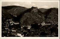 Altenahr Rheinland Pfalz alte AK ~1920/30 Blick zur Burg mit Tunneln Teilansicht