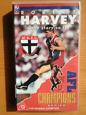 ROBERT HARVEY...THE STORY SO FAR ~ ST KILDA FOOTBALL CLUB ~ AFL ~ RARE VIDEO
