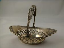 Beautiful Antique Gorham Sterling Silver Basket / Nut Dish - A7975