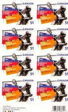 Canada 2006 Sc2161a MiMH 328 9.50 MiEu 1Pane mnh World Lacrosse Championships