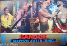 fotobusta 1964 SANDOK il Maciste della Giungla-Sean Flynn-A.Dominici-Panaro - 6