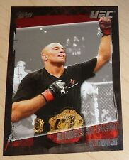 Georges St-Pierre 2010 Topps UFC Card #100 Champion Belt 65 79 94 100 158 GSP 83