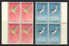 New Zealand 1959 Birds/Health/Teal 2v blks (n20661)