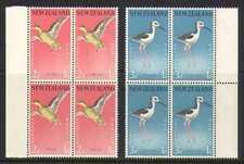 New Zealand 1959 Birds/Health/Teal 2v blks (n20661)