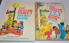 lot of 2 SESAME STREET STORY BOOK Children Books Random House 1980s