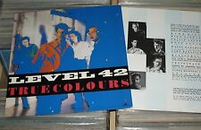 Level 42 - LP (VG+) True Colours / polydor 1984 Germany mit OIS