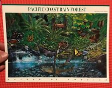 Scott #3378 Pacific Coast Rain Forest - Sheet Of 10 - 33 Cent Stamps