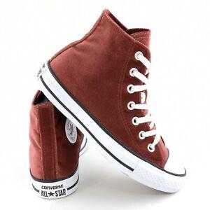 Arqueología grava jalea  Converse Chuck Taylor All Star Velvet High Top Athletic Shoes for Women for  sale | eBay