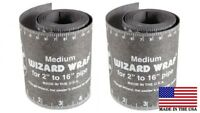 "2 EACH****  Flange Wizard WW-17 Medium Wrap 60"" Long, Pipe 2"" to 16"" Diameter"