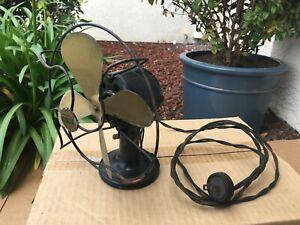 "Antique Vintage RARE Signal Electric Mfg. Co. ""Cool Spot"" 7 Inch Desk Fan"