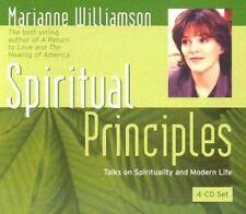 Spiritual Principles by Marianne Williamson (2004, CD)