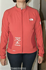 giacca tecnico cerniera arancione ultra pista Monte Bianco THE NORTH FACE apex