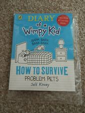 McDONALDS HAPPY MEAL DIARY OF A WIMPY KID  HOW TO SURVIVE PROBLEM PETS  NEW