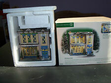 DEPT. 56 Heritage Village Collection, XMAS in the city Series, 5th ave. Saloon.