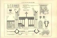 1900 Details Of A Village Church Designing Club First Prize Aristo