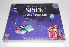 Where In Space Is Carmen Sandiego? Board Game University Games (New/Sealed)