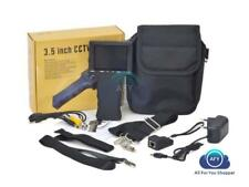 TESTER TELECAMERE AHD CCTV PER TEST TELECAMER MONITOR PORTATILE 3,5 RICARICABILE